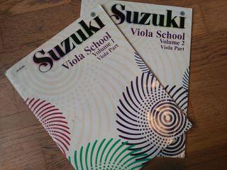 Suzuki Viola I y II