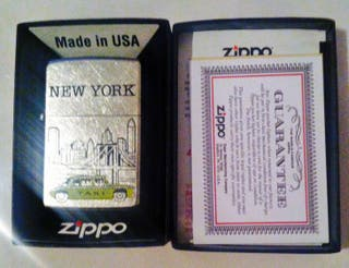 Zippo New York Modelo 207 - Street Chrome