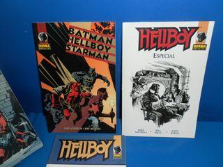 Comics 4 tomos HELLBOY -Dark Horse-Norma-observa