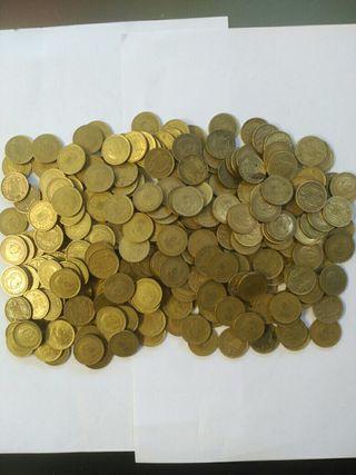 gran lote de 300 moneda antiguas pesetas 1966