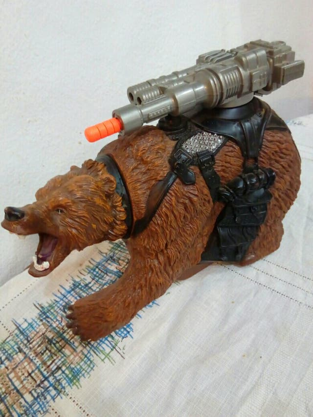 action man grizzly
