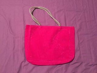 Bolsa fucsia y rosa