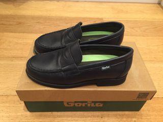 zapatos niño negros colegio, talla 33