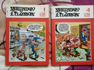 Mortadelo y Filemon. 2 libros coleccionables