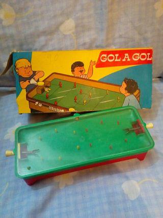 juguete antiguo de futbol