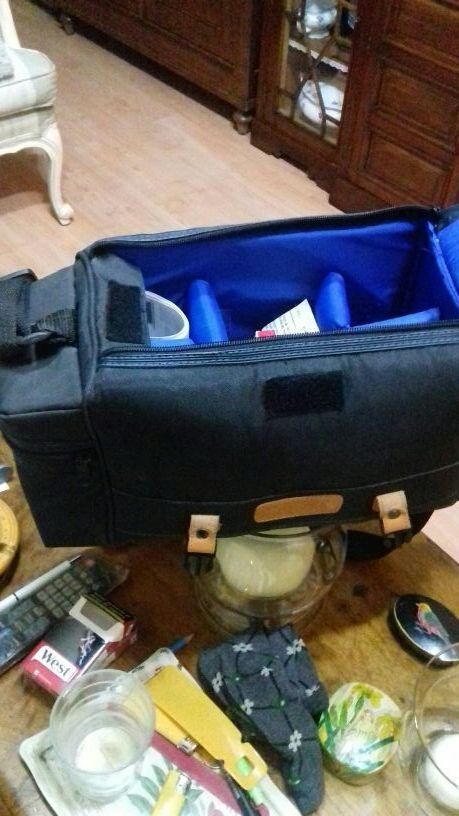 bolso transporte de camara fotográfica