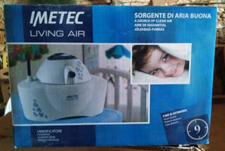 Humidificador IMETEC LIVING AIR compacto