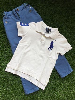 Pantalon niño SERGENT MAJOR T4