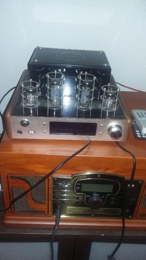 Amplificador de Valvula muy poco uso
