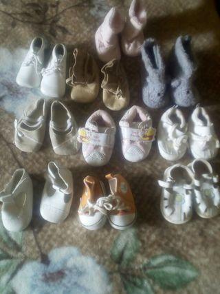 10 zapatos niña todas a 10€oferta