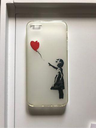 Funda Banksy Iphone 5.