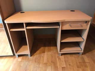 Mesa ordenador de madera