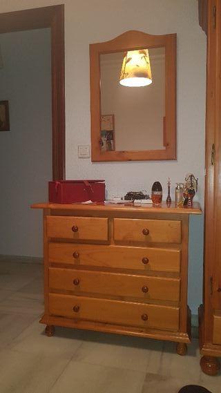 cuarto completo(incluye mesita de noche, camas ...