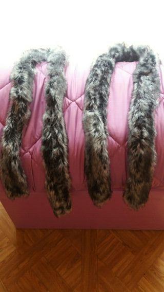 cuellos de pelo