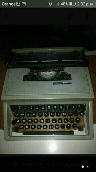 maauina de escribir
