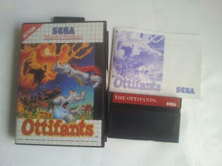 Juego the ottifants master system consola Sega