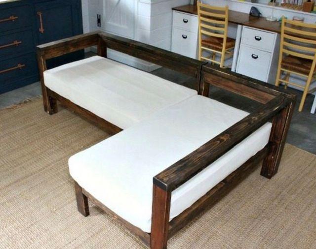 Sofa esquinero interior exterior madera Palets de segunda mano por ...