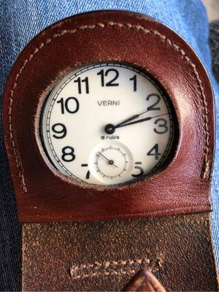 Reloj de Bolsillo de cuerda manual , mecanico .