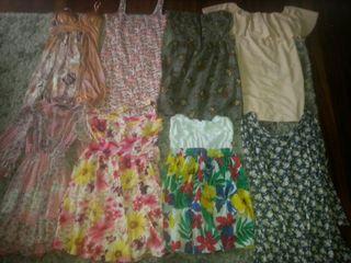 lote 8 vestidos verano t.S