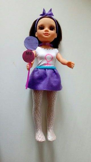 Muñeca Nancy de Famosa personalizada 8-M