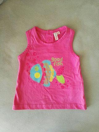 Camiseta bebé 68 cm (6 meses)