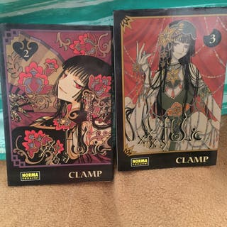 Clamp Manga tomos 2 y 3