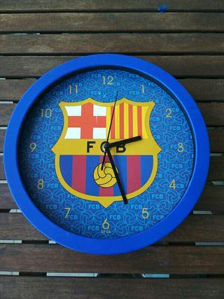 Reloj de pared. Barça. Original