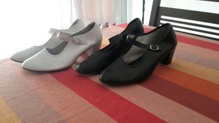 zapatos de danza española talla 40