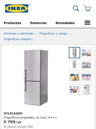 Nevera kylslagen Ikea