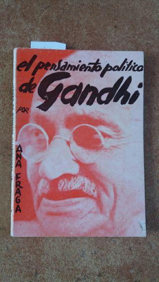 el pensamiento politico de Gandhi