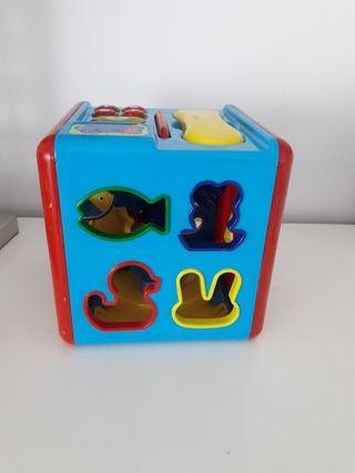 juguete bebe y niño