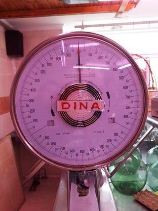 Balanza de aguja DINA decoración vintage