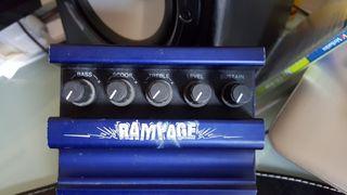 Pedal distorsión Rampage