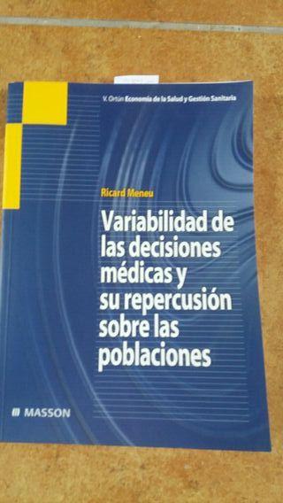 variavilidad de las decisiones medicas y repercusi