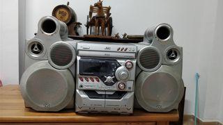Equipo de Música JVC GigaTube