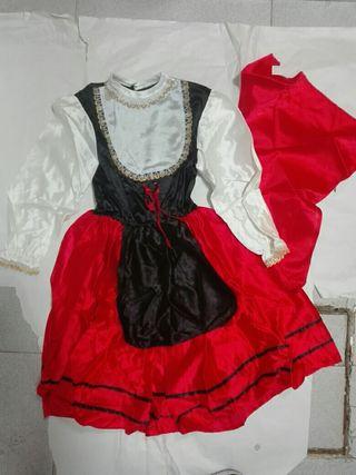 vestido castellano