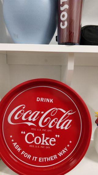 2 Bandejas CocaCola de metal