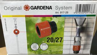 Conector rosca Gardena