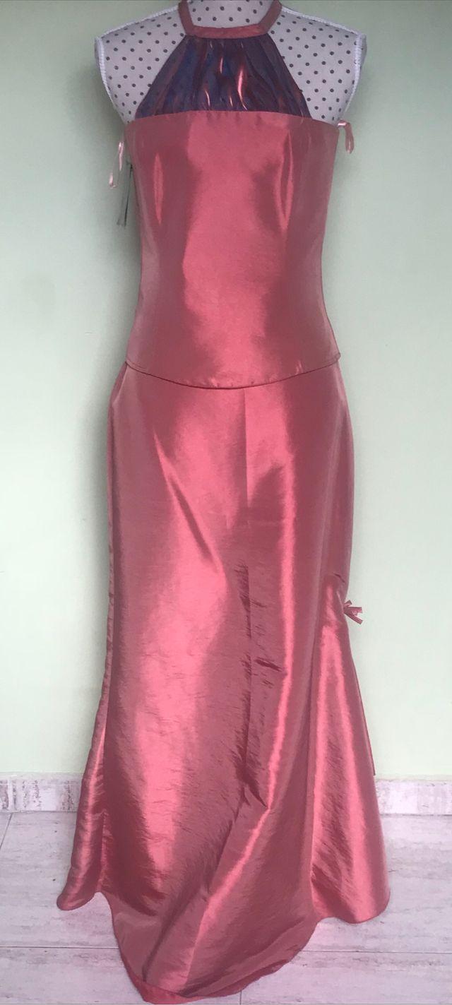 Vestido fiesta rosametal NUEVO. de segunda mano por 45 € en ...