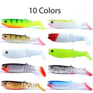 señuelos de pesca vinilos artificiales