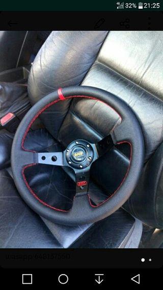 volante invertido desplazado coche nuevo