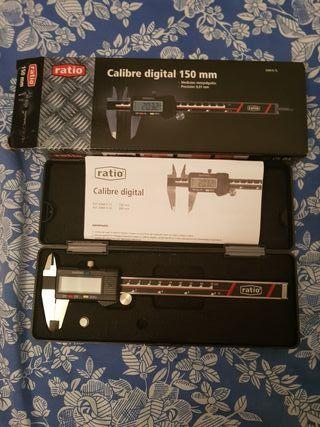 calibre digital 150 mm profesional