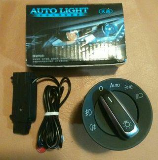 mando con sensor luces volkswagen