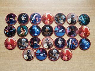 Tazos Batman Forever de Kellogg's