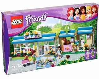 LEGO FEIENDS 3188 CLINICA VETERINARIA NUEVO