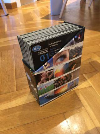 Curso fotografia dvd libros
