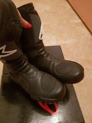 botas moto alpine star talla40