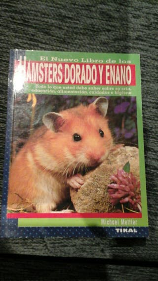 libro hamster dorado y enano