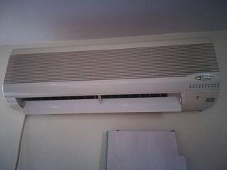 2 splits de aire acondicionado