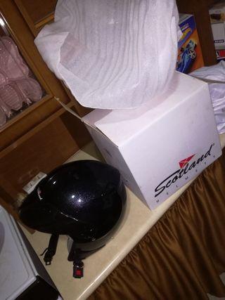 Casco moto tandas